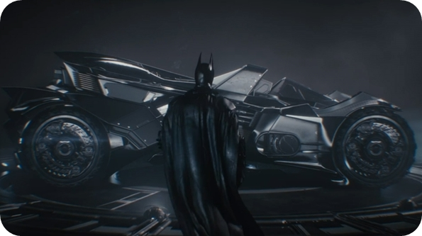 Batman's batmobile for the new game, Batman: Arkham Knight.