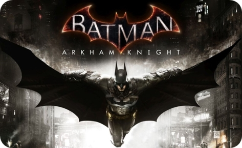 Batman: Arkham Knight Logo for new PS4 and Xbox One game