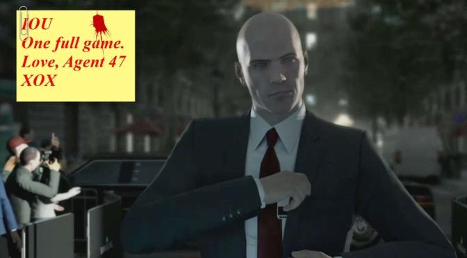 Hitman's segmented release is anti-gamer