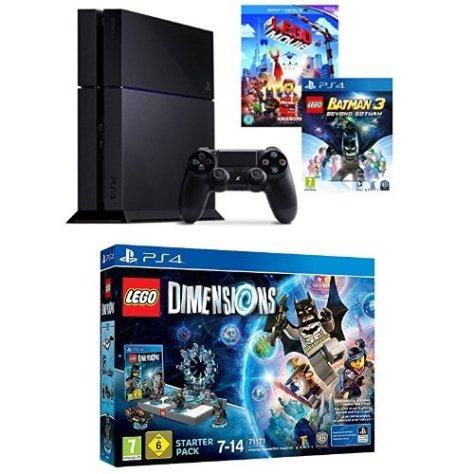 PS4 console + Lego dimensions, Lego Movie and Lego Batman 3 – £330 ...